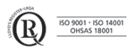 iso 9001 · iso 14001 · OHSAS 18001